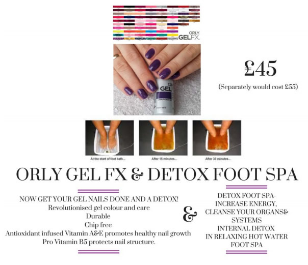 Orly Gel FX & Detox Foot Spa